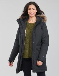 Odjeća Žene  Parke Columbia LITTLE SI INSULATED PARKA Crna