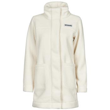 Odjeća Žene  Kaputi Columbia PANORAMA LONG JACKET Bijela