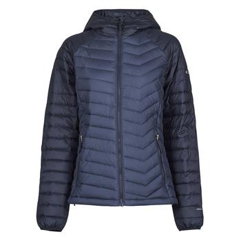 Odjeća Žene  Pernate jakne Columbia POWDER LITE HOODED JACKET Crna