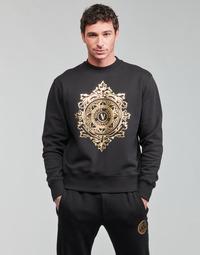 Odjeća Muškarci  Sportske majice Versace Jeans Couture VEMBLEM LEAF Crna / Gold