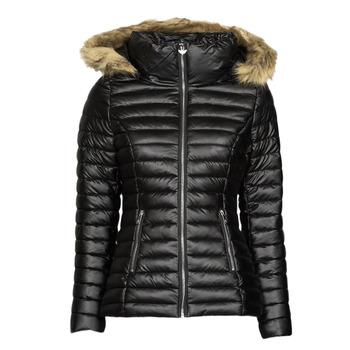 Odjeća Žene  Pernate jakne Les Petites Bombes ALIMA Crna