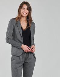 Odjeća Žene  Jakne i sakoi Les Petites Bombes ANNE Siva / Boja antracita