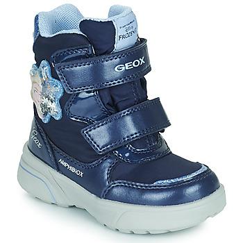 Obuća Djevojčica Čizme za snijeg Geox SVEGGEN ABX Blue