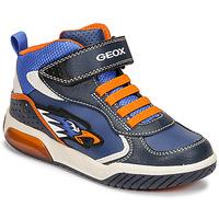 Obuća Dječak  Visoke tenisice Geox INEK Blue / Narančasta