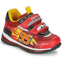 Obuća Dječak  Niske tenisice Geox TODO Red / Žuta