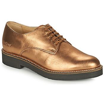 Obuća Žene  Derby cipele Kickers OXFORK Brončana