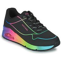 Obuća Žene  Niske tenisice Skechers UNO Crna / Multicolour