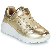 Obuća Djevojčica Niske tenisice Skechers UNO LITE Gold