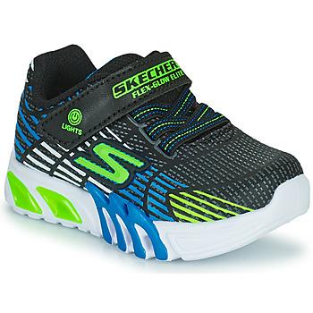 Obuća Dječak  Niske tenisice Skechers FLEX-GLOW ELITE Crna / Blue / Led