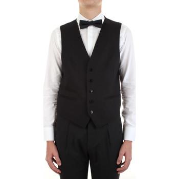 Odjeća Muškarci  Prsluci od odijela Manuel Ritz 3030W9077-213029 Nero