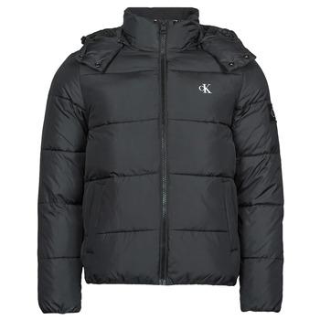 Odjeća Muškarci  Pernate jakne Calvin Klein Jeans ESSENTIALS NON DOWN JACKET Crna