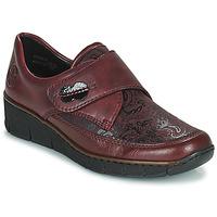 Obuća Žene  Derby cipele Rieker BOLLE Bordo