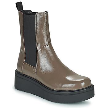 Obuća Žene  Polučizme Vagabond Shoemakers TARA Smeđa / Svijetla