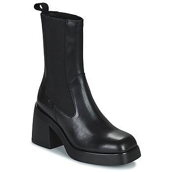 Obuća Žene  Gležnjače Vagabond Shoemakers BROOKE Crna