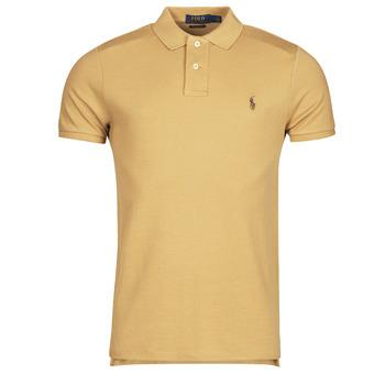 Odjeća Muškarci  Polo majice kratkih rukava Polo Ralph Lauren PETRINA Camel
