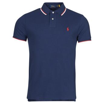 Odjeća Muškarci  Polo majice kratkih rukava Polo Ralph Lauren CALMIRA Blue