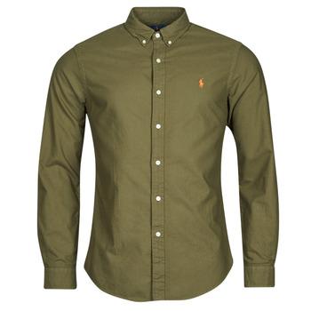 Odjeća Muškarci  Košulje dugih rukava Polo Ralph Lauren DRISSY Kaki