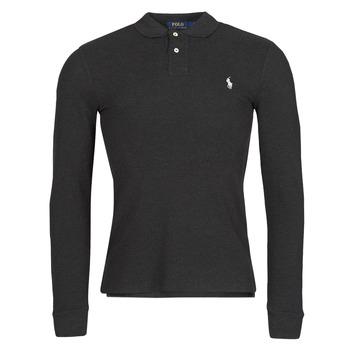 Odjeća Muškarci  Polo majice dugih rukava Polo Ralph Lauren MOLINA Crna
