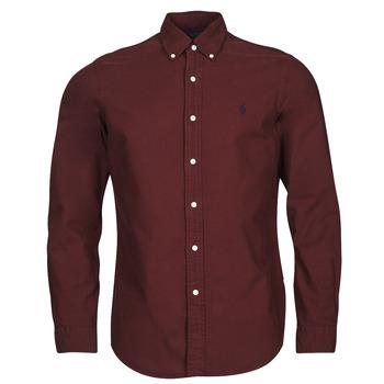 Odjeća Muškarci  Košulje dugih rukava Polo Ralph Lauren KAOLMA Bordo