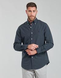 Odjeća Muškarci  Košulje dugih rukava Polo Ralph Lauren RENIMA Zelena / Blue