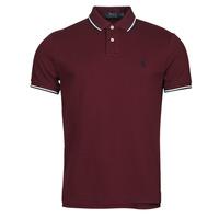Odjeća Muškarci  Polo majice kratkih rukava Polo Ralph Lauren HOULIA Bordo
