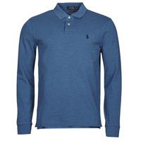 Odjeća Muškarci  Polo majice dugih rukava Polo Ralph Lauren KETINA Blue / Royal