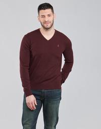 Odjeća Muškarci  Puloveri Polo Ralph Lauren SOLIMMA Bordo