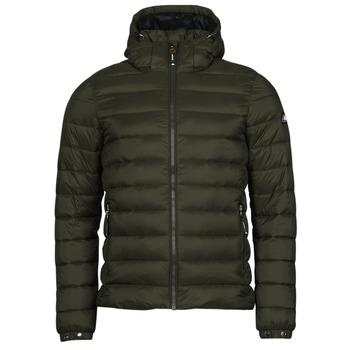 Odjeća Muškarci  Pernate jakne Superdry CLASSIC FUJI PUFFER JACKET Crna