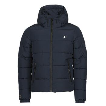 Odjeća Muškarci  Pernate jakne Superdry HOODED SPORTS PUFFER Blue