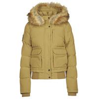 Odjeća Žene  Pernate jakne Superdry EVEREST BOMBER Smeđa / Svijetla