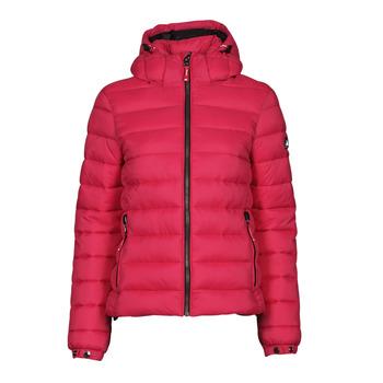 Odjeća Žene  Pernate jakne Superdry CLASSIC FUJI PUFFER JACKET Ružičasta