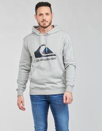 Odjeća Muškarci  Sportske majice Quiksilver BIG LOGO HOOD Siva