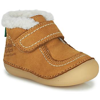 Obuća Djevojčica Polučizme Kickers SOMOONS Camel