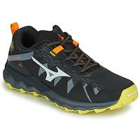 Obuća Muškarci  Running/Trail Mizuno WAVE DAICHI 4 Crna / Narančasta
