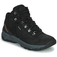 Obuća Muškarci  Pješaćenje i planinarenje Merrell ERIE MID LTR WP Crna