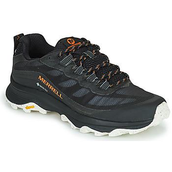 Obuća Muškarci  Pješaćenje i planinarenje Merrell MOAB SPEED GTX Crna