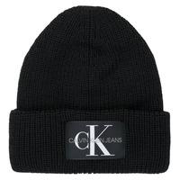 Tekstilni dodaci Žene  Kape Calvin Klein Jeans MONOGRAM BEANIE WL Crna