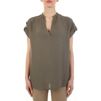 Odjeća Žene  Topovi i bluze White Wise WW1319 Militare