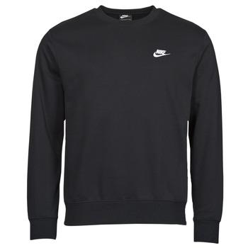 Odjeća Muškarci  Sportske majice Nike NIKE SPORTSWEAR CLUB FLEECE Crna / Bijela
