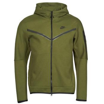 Odjeća Muškarci  Gornji dijelovi trenirke Nike NIKE SPORTSWEAR TECH FLEECE Zelena / Crna