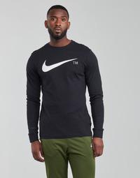 Odjeća Muškarci  Majice dugih rukava Nike M NSW TEE LS GRX TEE Crna