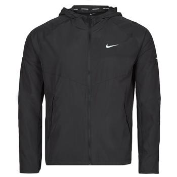 Odjeća Muškarci  Vjetrovke Nike M NK RPL MILER JKT Crna / Srebrna