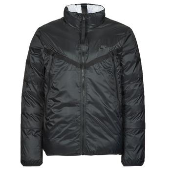 Odjeća Muškarci  Pernate jakne Nike M NSW TF RPL REVIVAL REV JKT Crna / Siva