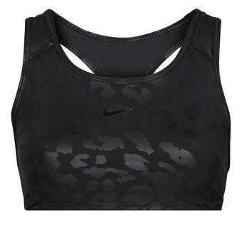 Odjeća Žene  Sportski grudnjaci Nike W NP DF SWSH LEPARD SHINE BRA Crna