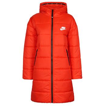 Odjeća Žene  Pernate jakne Nike W NSW TF RPL CLASSIC HD PARKA Red / Crna / Bijela