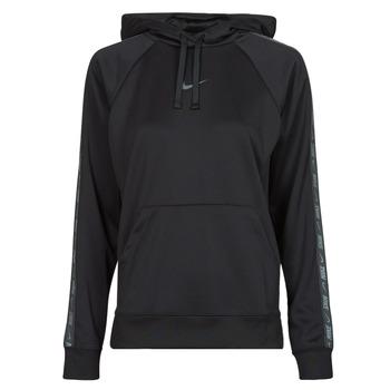 Odjeća Žene  Sportske majice Nike W NSW PK TAPE PO HOODIE Crna