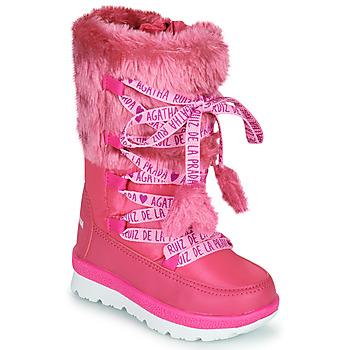 Obuća Djevojčica Čizme za snijeg Agatha Ruiz de la Prada APRESKI Ružičasta