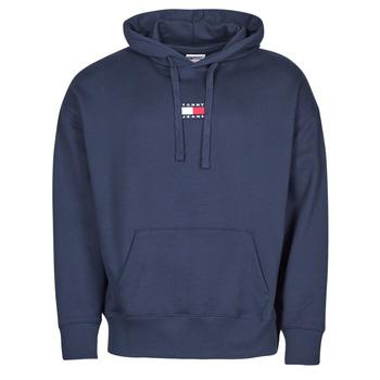 Odjeća Muškarci  Sportske majice Tommy Jeans TJM TOMMY BADGE HOODIE Blue