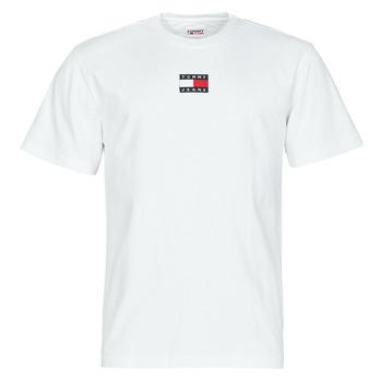 Odjeća Muškarci  Majice kratkih rukava Tommy Jeans TJM TOMMY BADGE TEE Bijela