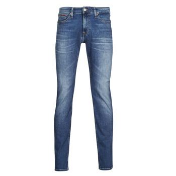 Odjeća Muškarci  Slim traperice Tommy Jeans SCANTON SLIM AE136 MBS Blue